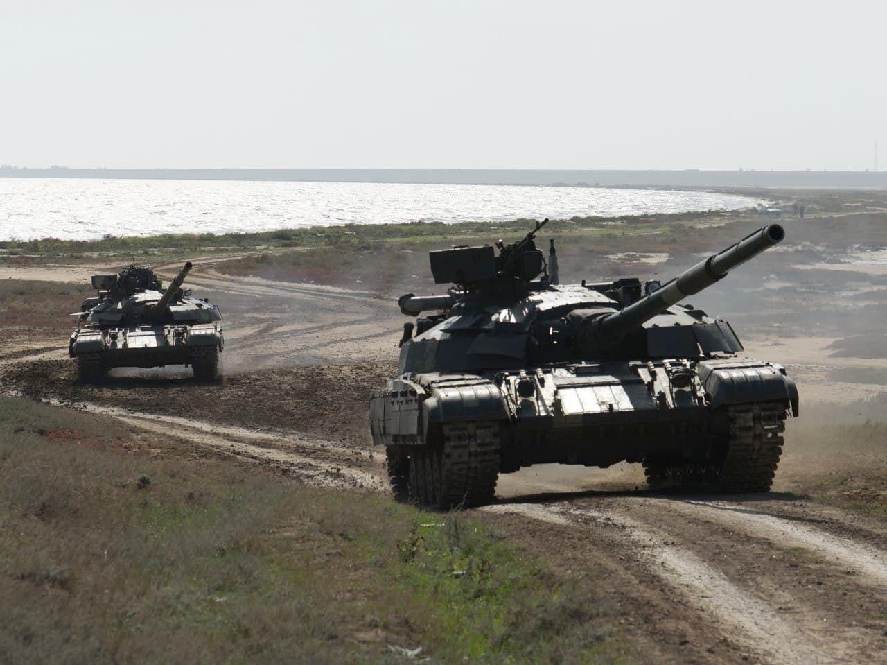 Танковые экипажи ВСУ провели учения на юге.