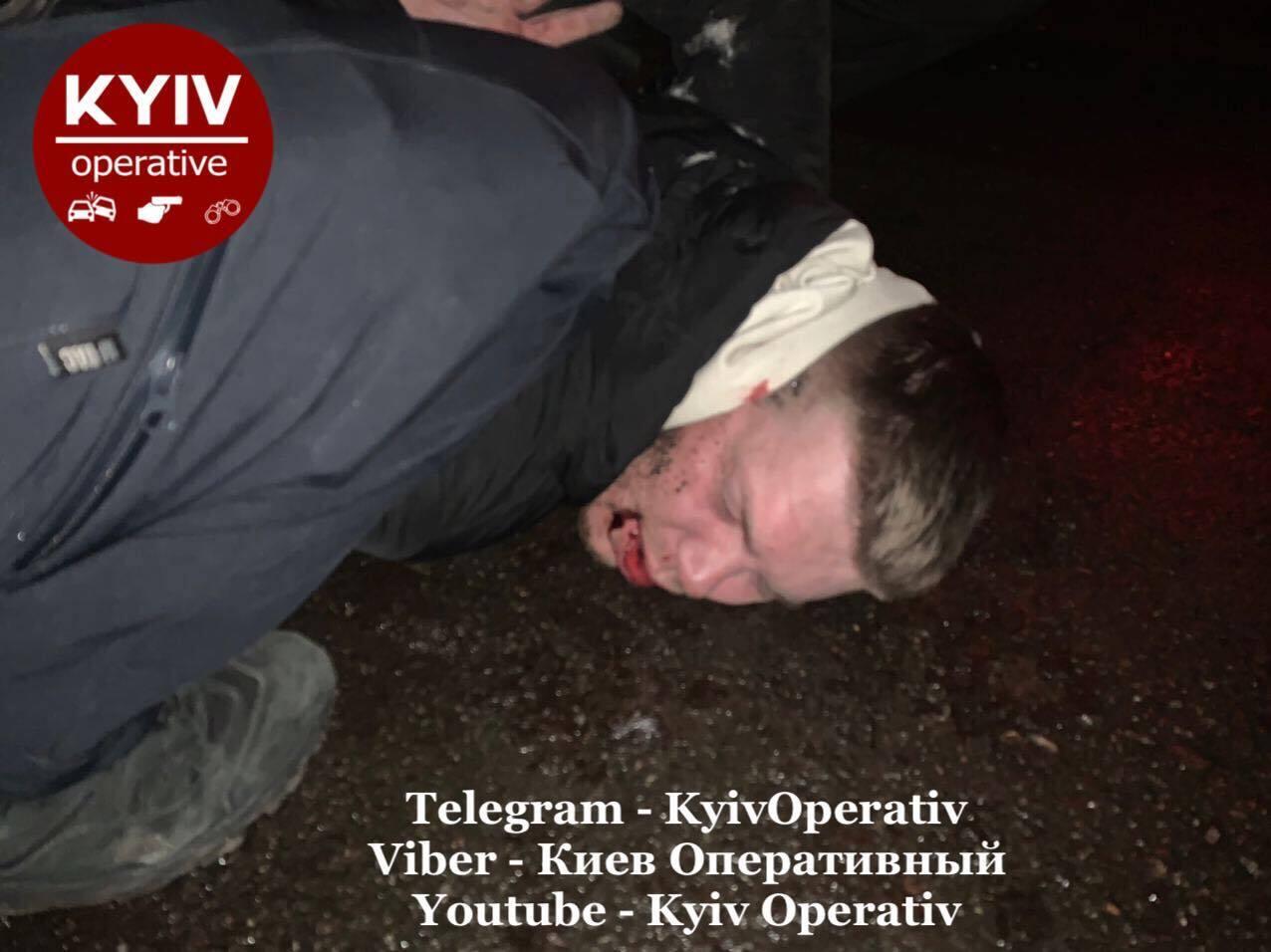Пьяный полицейский устроил ДТП.