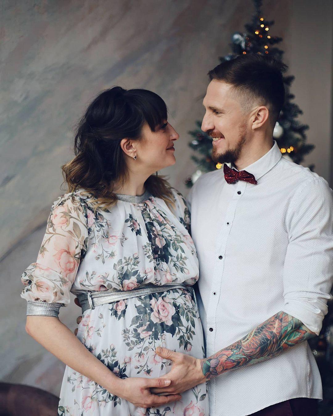 Ольга Абрамова з чоловіком