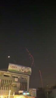 """Ракетные обстрелы в """"зеленой зоне"""" Багдада"""