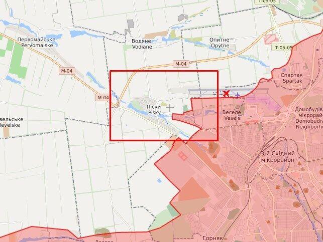 Оккупанты обстреливали позиции ВСУ в районе Южного.