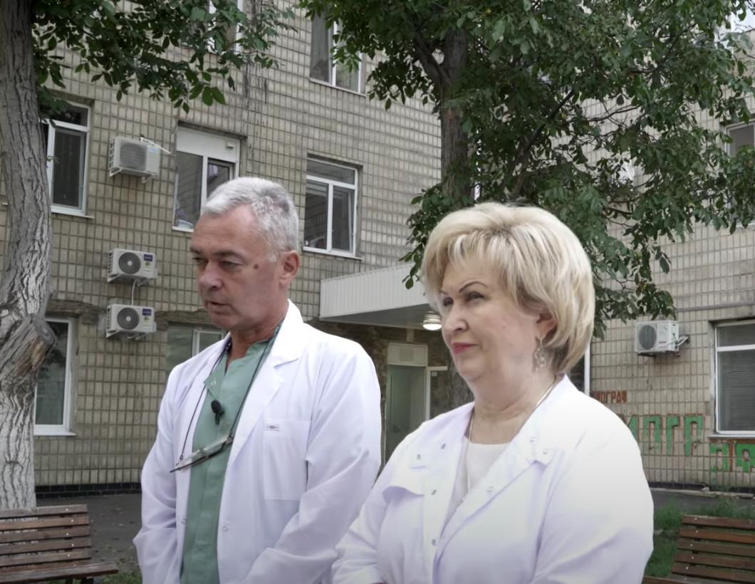 Лікарі 10-ї міської лікарні Одеси.
