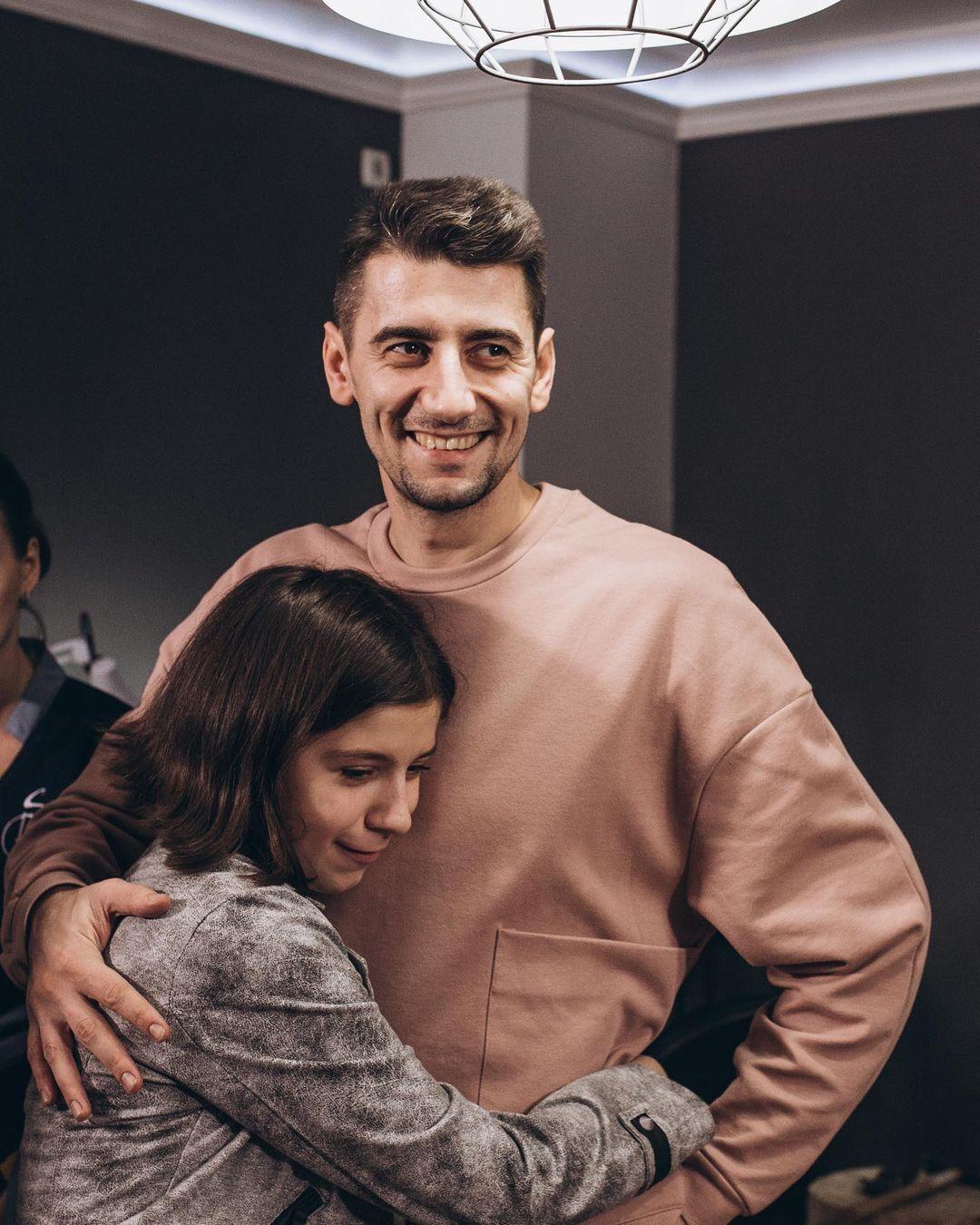 Александр Эллерт с дочерью Элей