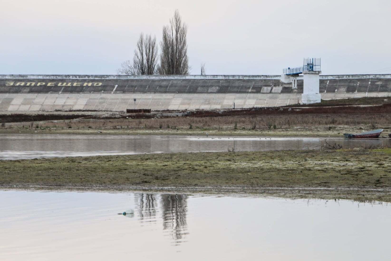 Бахчисарайское водохранилище высохло