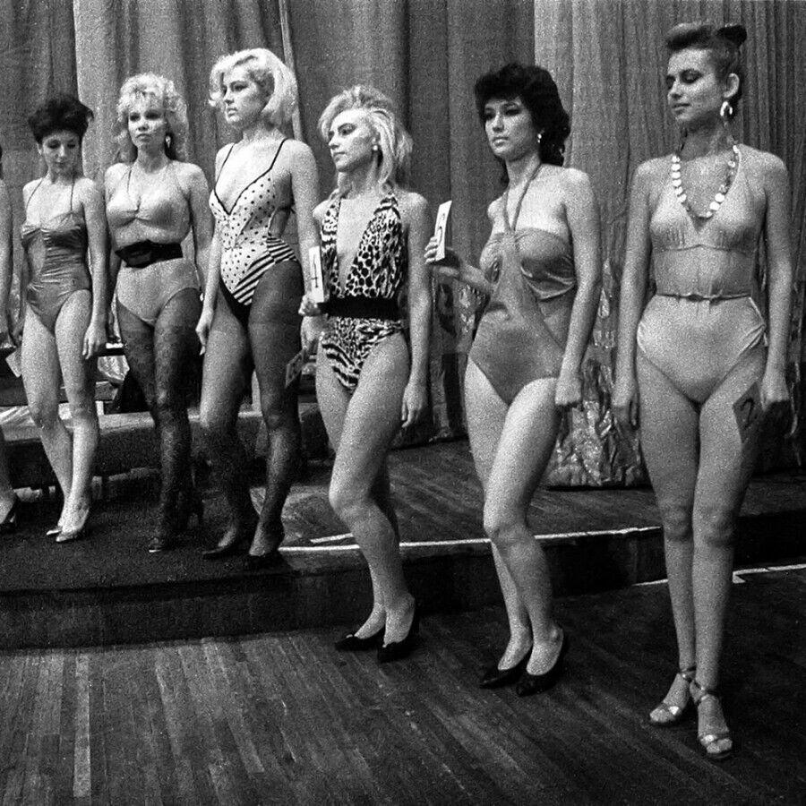 Как выглядели участницы конкурсов красоты в СССР