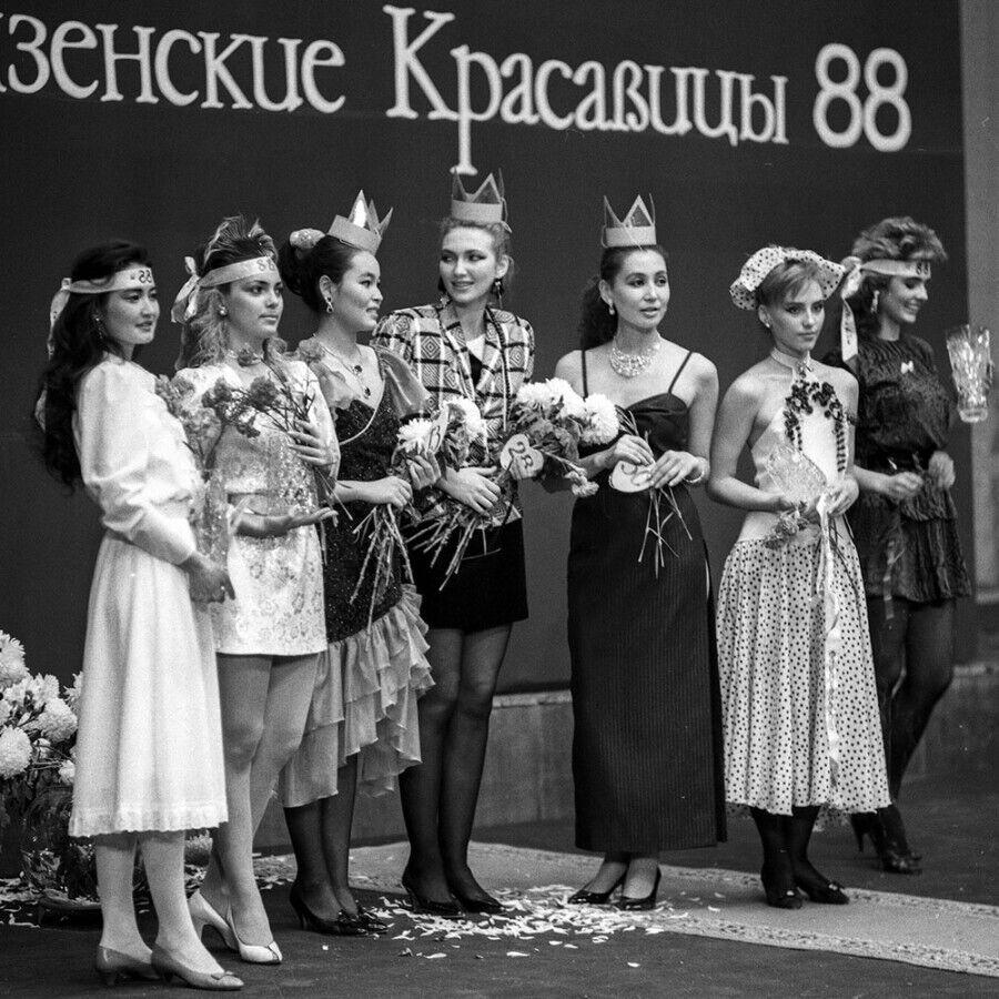 """Конкурс """"Фрунзенские красавицы-88"""""""