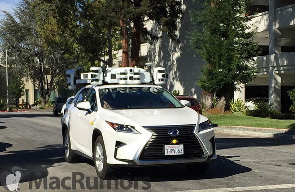 У межах проєкту Apple на дорогах Каліфорнії проводяться тести обладнання та систем автопілота
