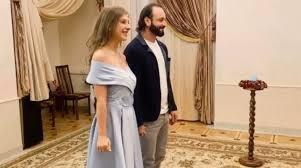 Ліза Арзамасова та Ілля Авербух одружилися.