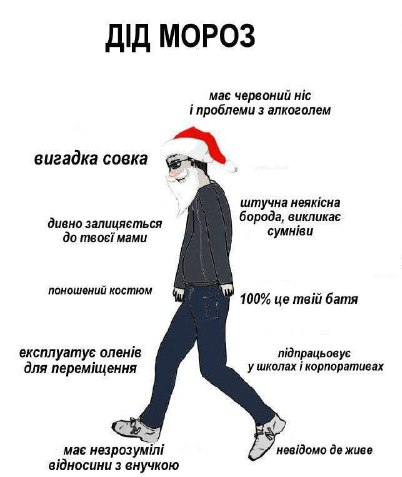 Прикол про Діда Мороза