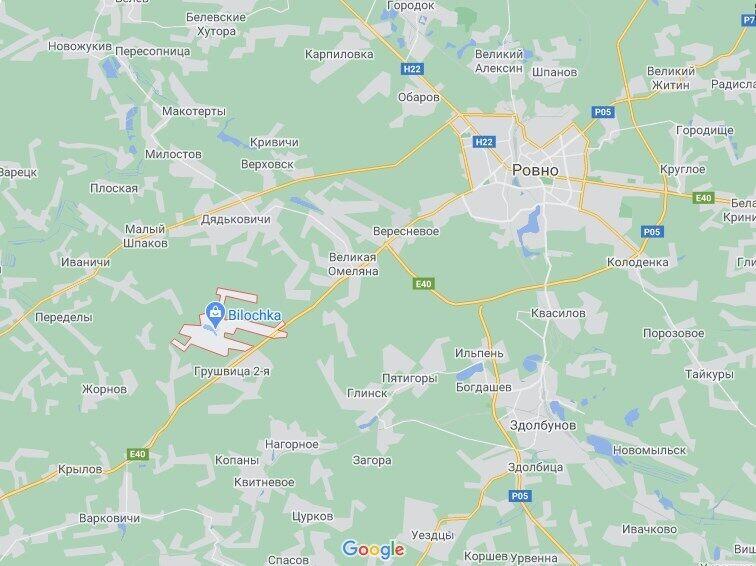 Аварія сталася в районі села Грушвиця.