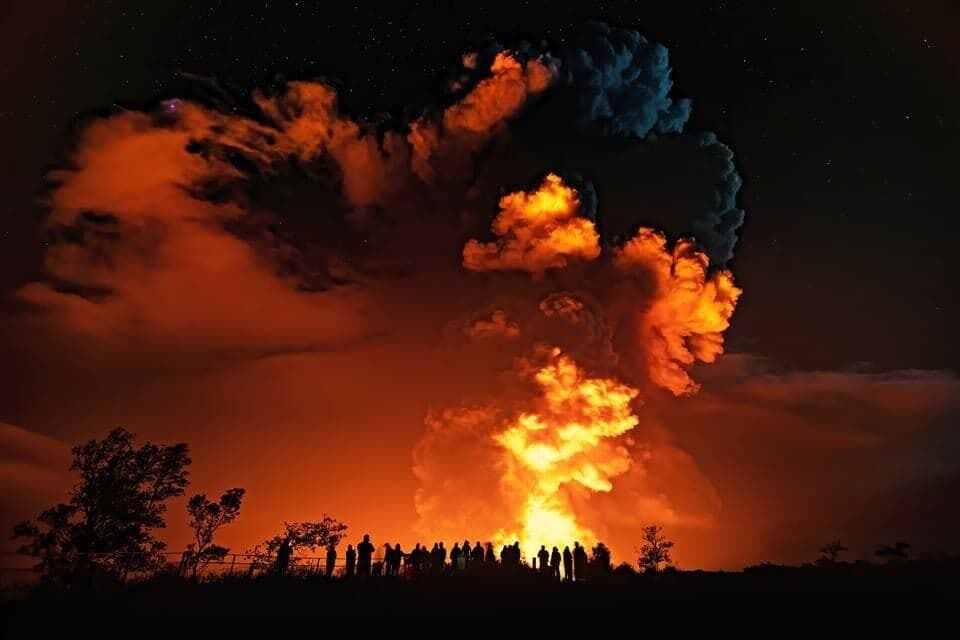 Извержение Килауэа на Гавайских островах
