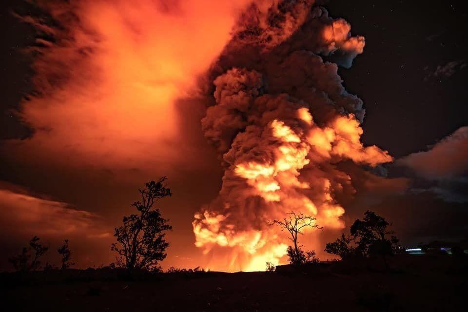 Килауэа – один из самых больших и активных на островах