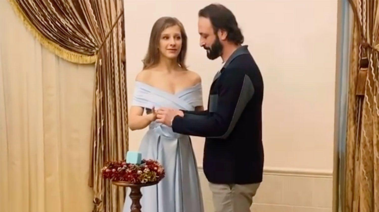 Арзамасова і Авербух одружилися.