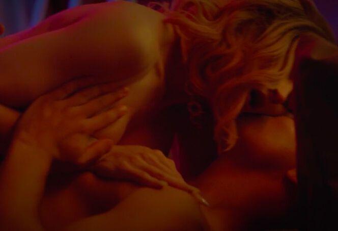 Еротична сцена з Таїсією Щурук і Максом Самчиком.