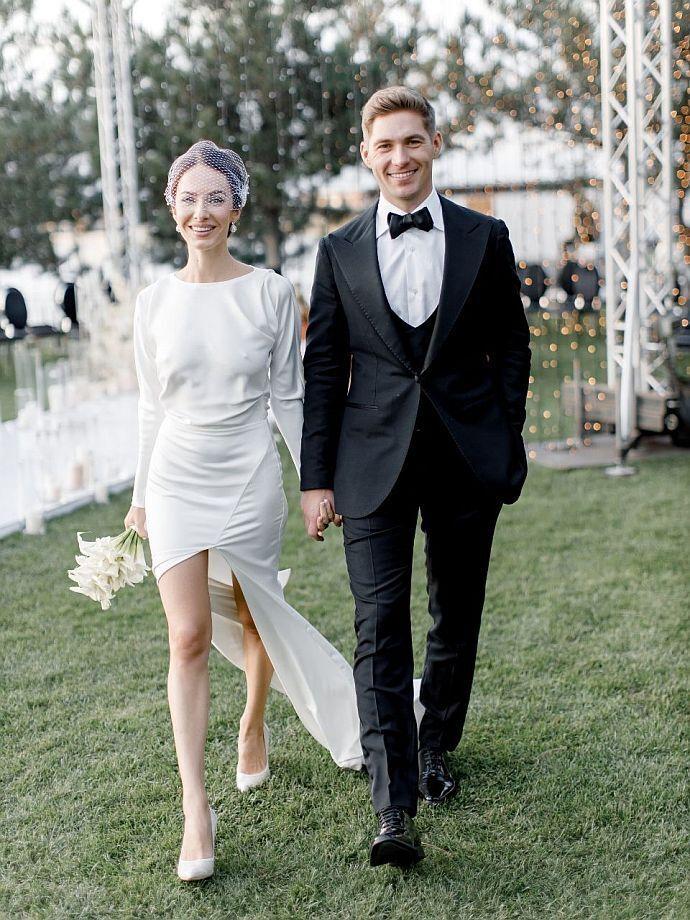 Свадебный наряд Кристины