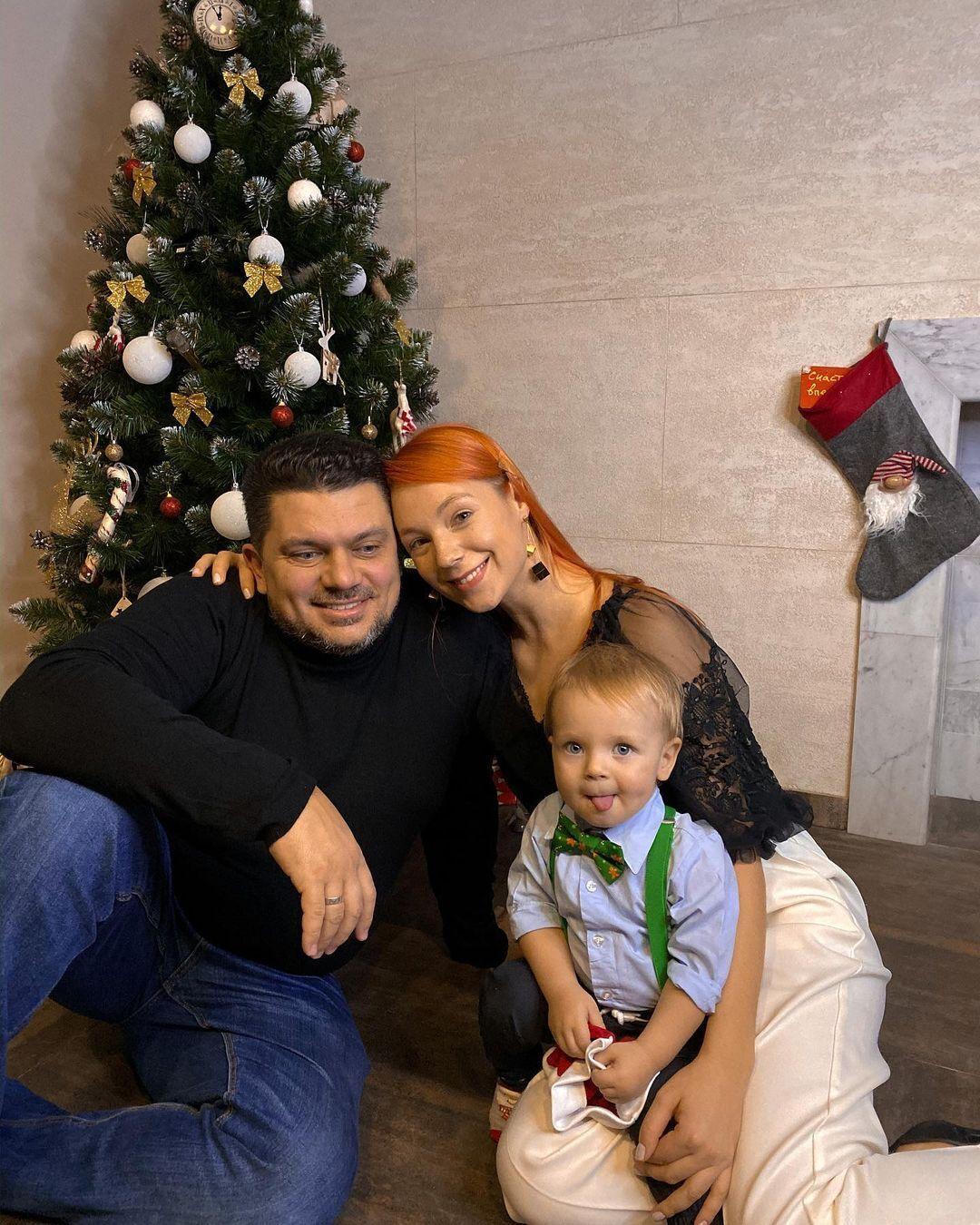 Світлана Тарабарова з сім'єю.