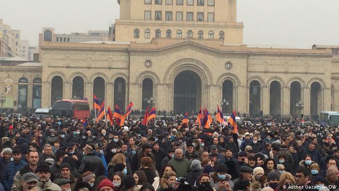 Протест на площі Республіки.