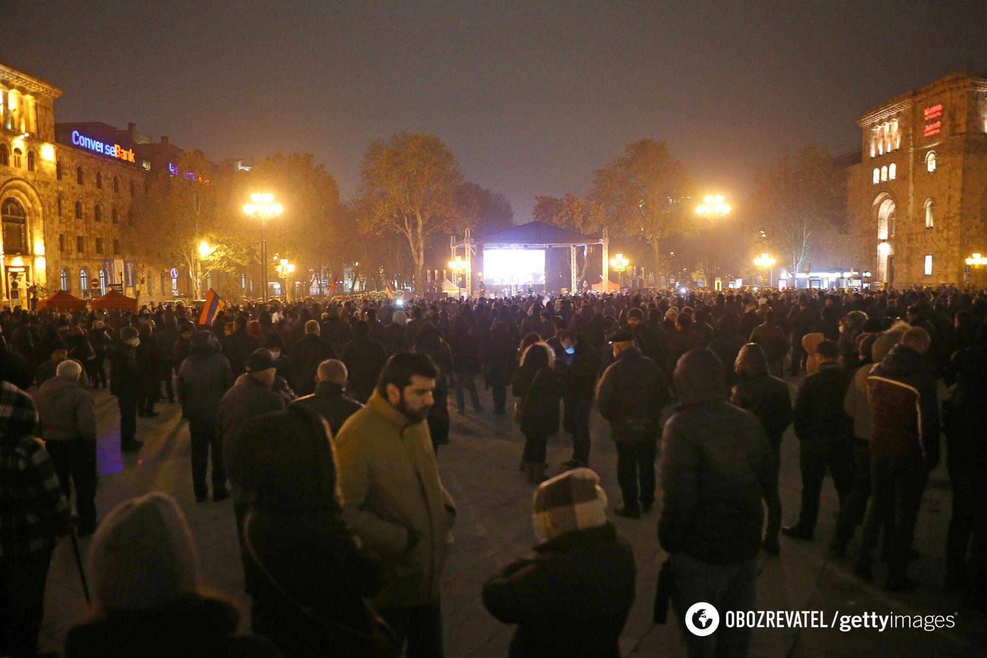 Протести в Єревані.