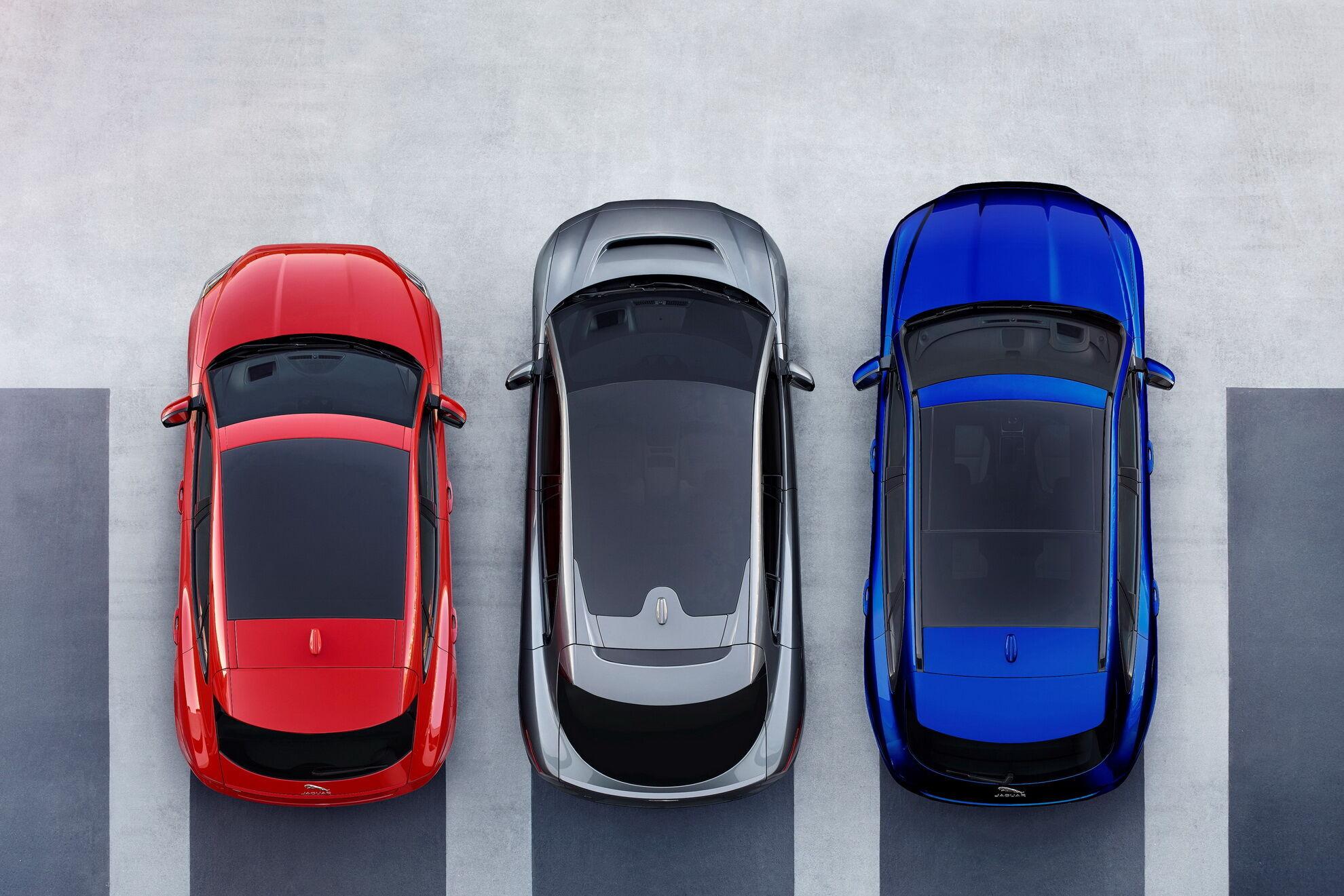 Линейка кроссоверов Jaguar: E-Pace, электрический I-Pace и F-Pace
