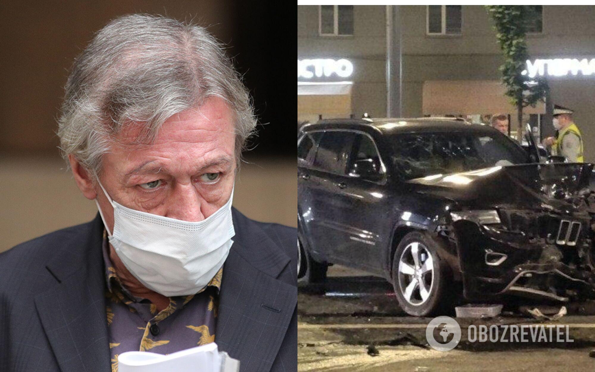 Актер Михаил Ефремов стал виновником смертельного ДТП