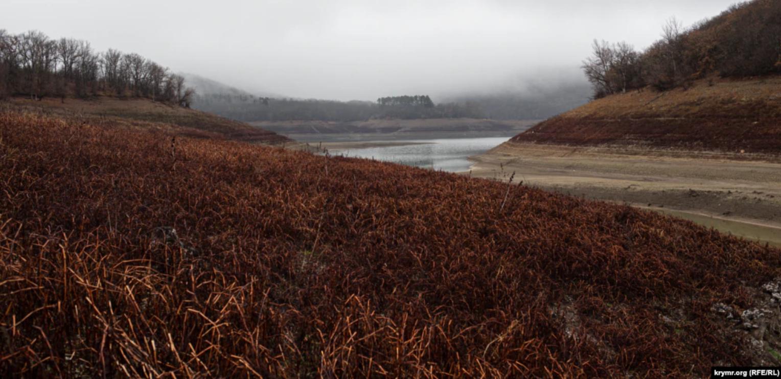 На кризу з водою в Криму не вплинули навіть осінні дощі.
