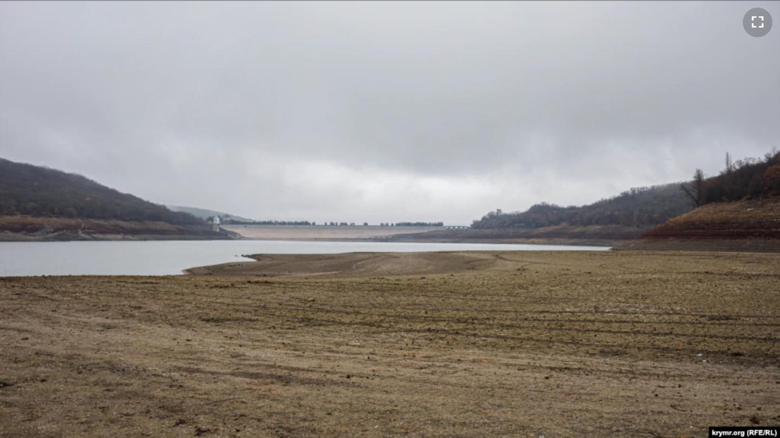 Наповнюваність Партизанського водосховища впала до 7 млн кубометрів.