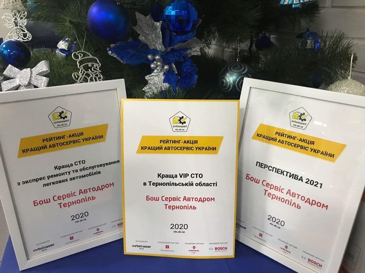 Сеть СТО Bosch Service одержала победу в трех номинациях конкурса
