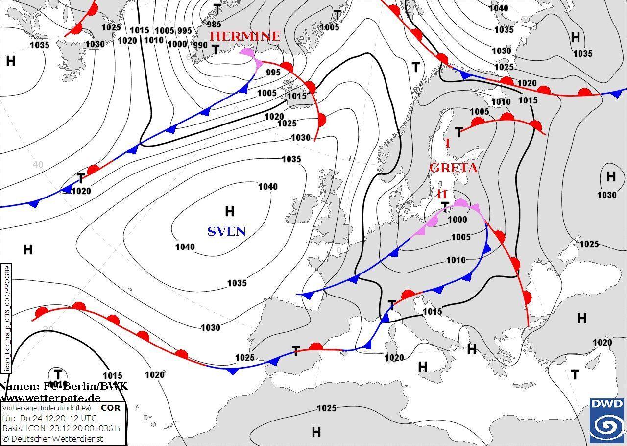 Мапа вітру