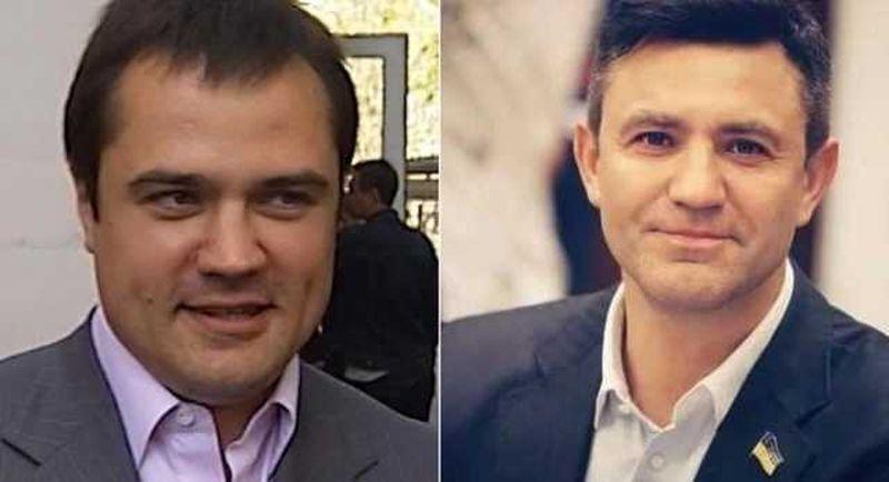 Денис Комарницький і Микола Тищенко. Колаж