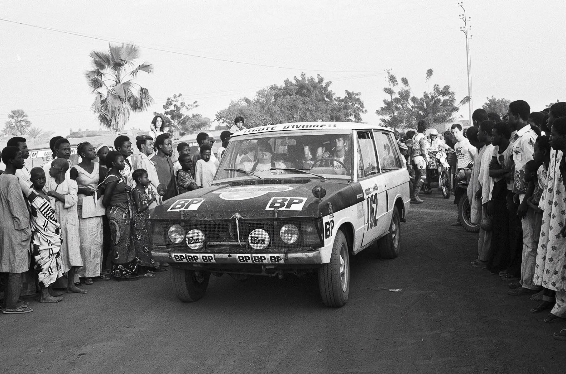 """Ален Женестье на Range Rover завоевал победу в самом первом марафоне """"Париж-Дакар"""" в 1979 году"""