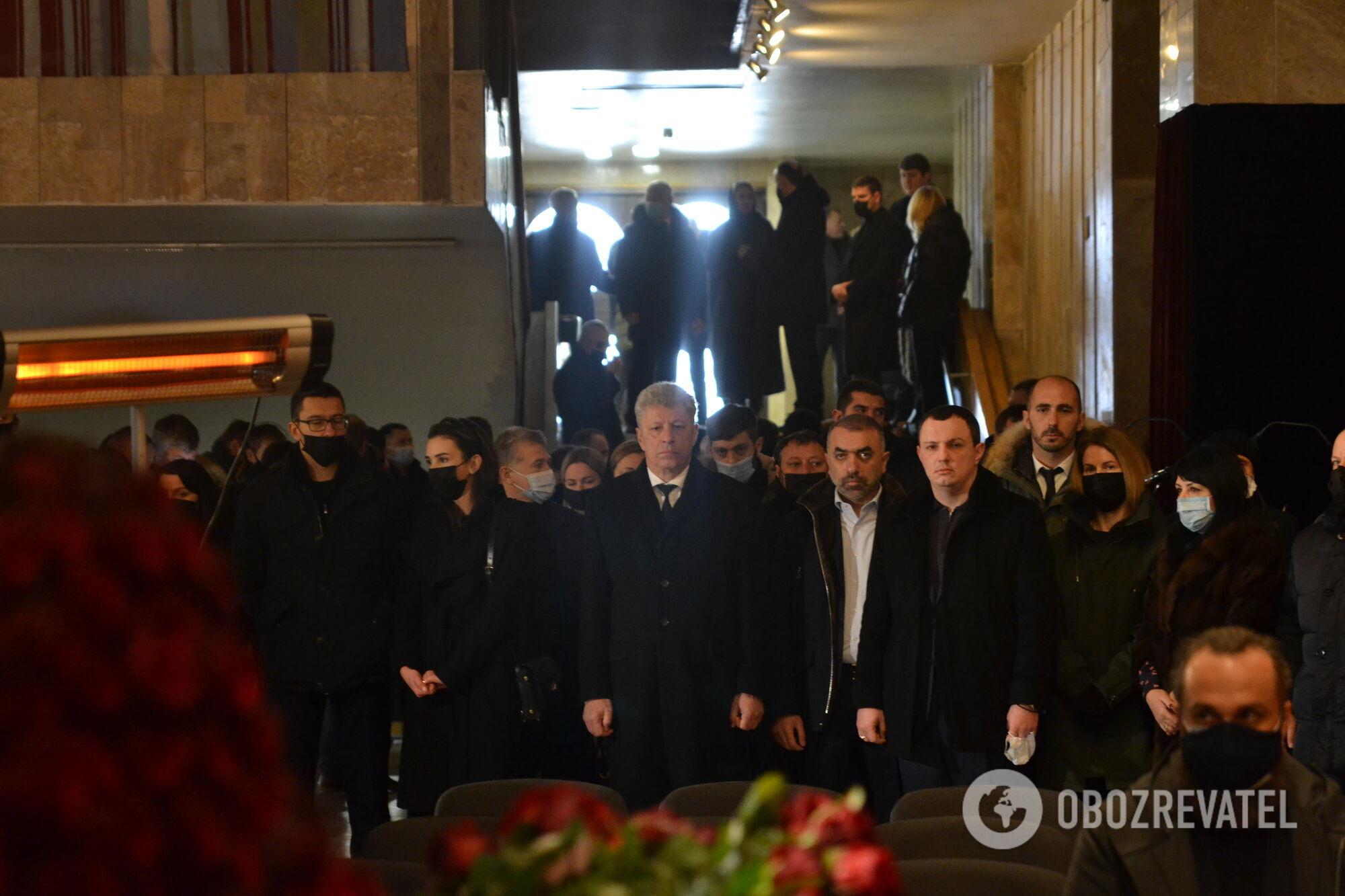 Прощання політиків із мером Кернесом в Харкові