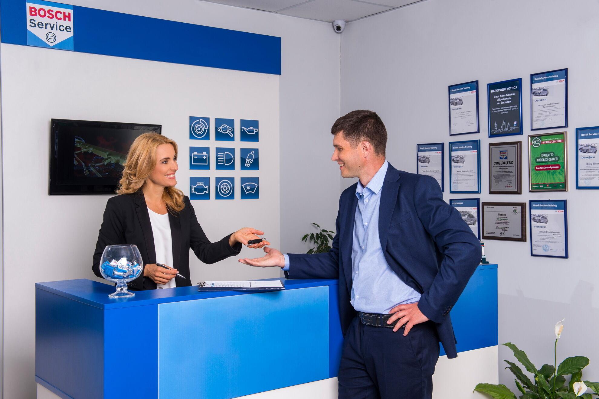 Сеть независимых автосервисов Bosch Service в Украине объединяет 100 СТО