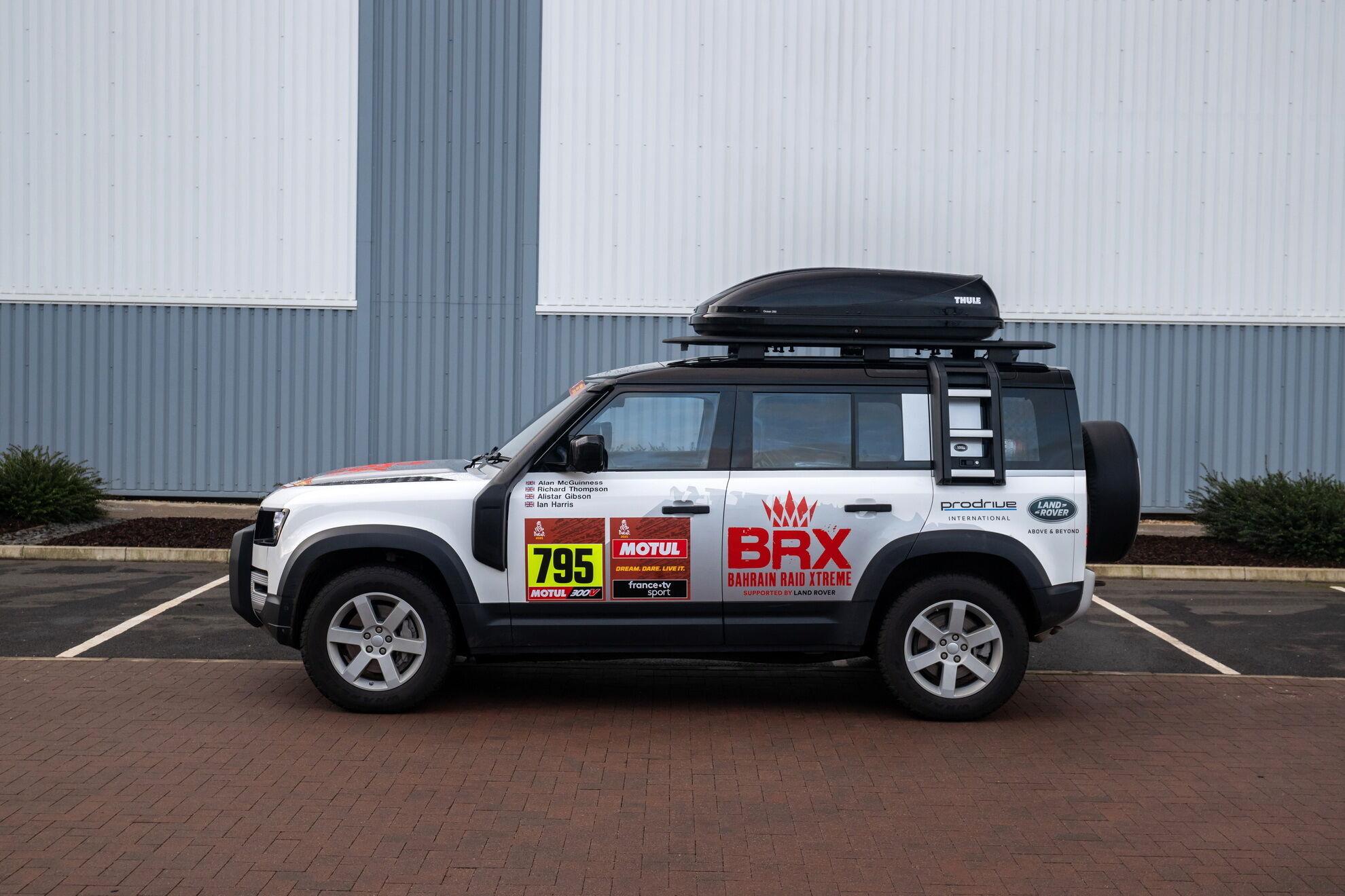 Компания Land Rover будет обеспечивать техническую поддержку новой команде Bahrain Raid Xtreme