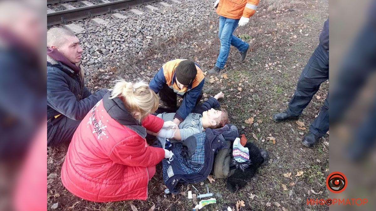 Поезд сбил ребенка в Каменском.