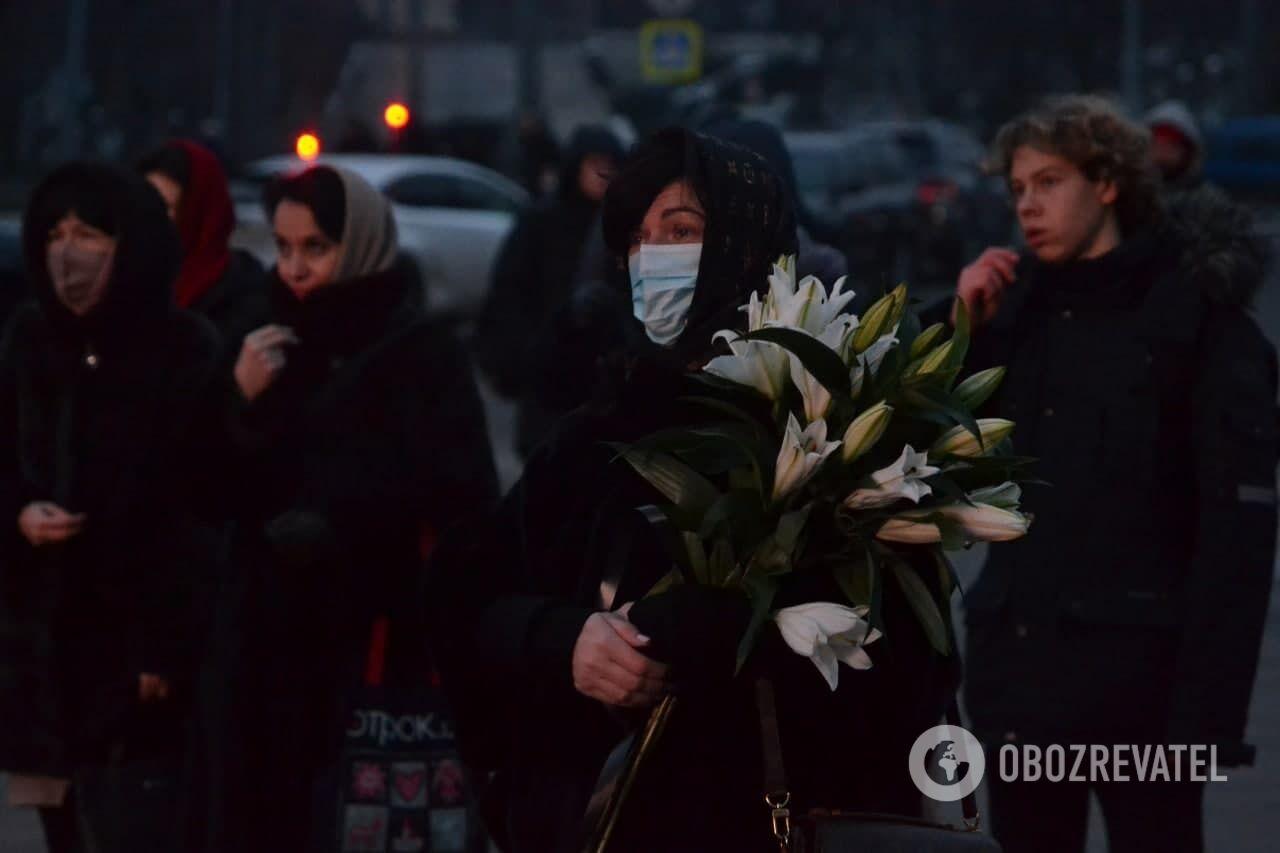 Харьков похороны Кернеса