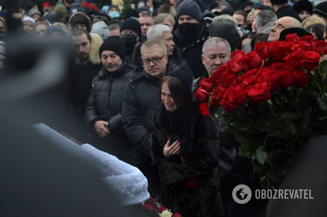 Погребение мэра Харькова