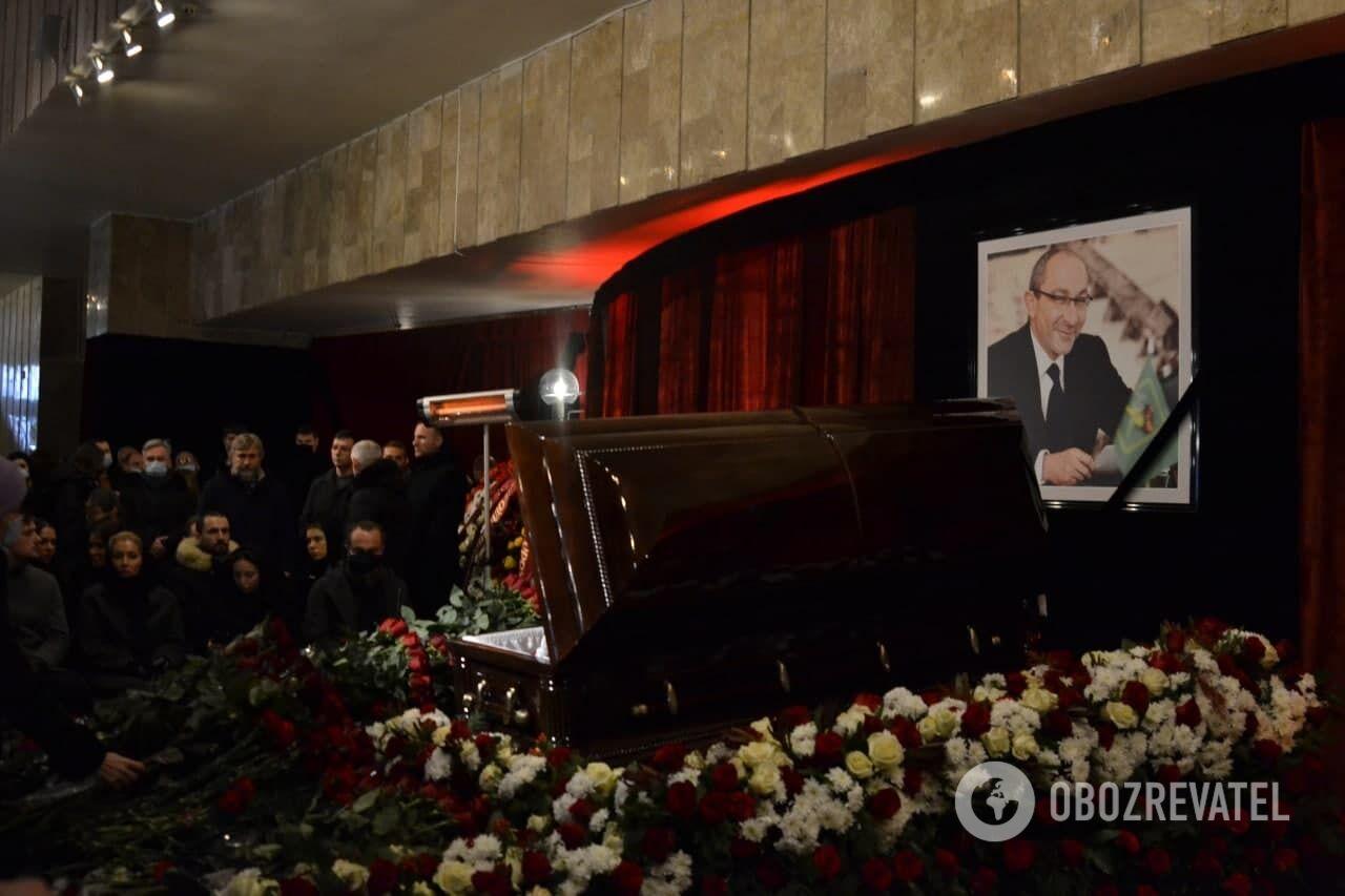 Траур в Харькове