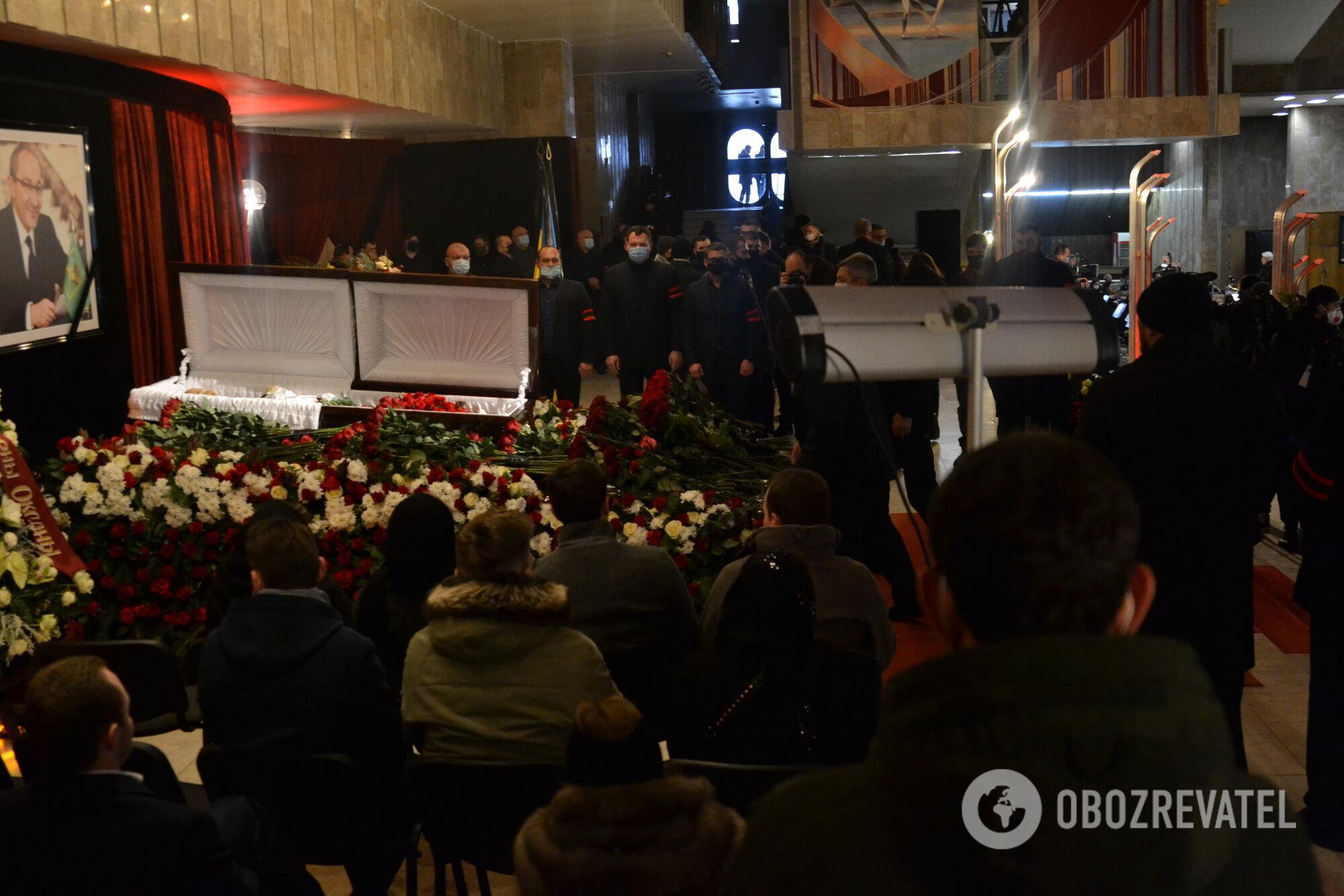 Похороны Геннадия Кернеса в Харькове