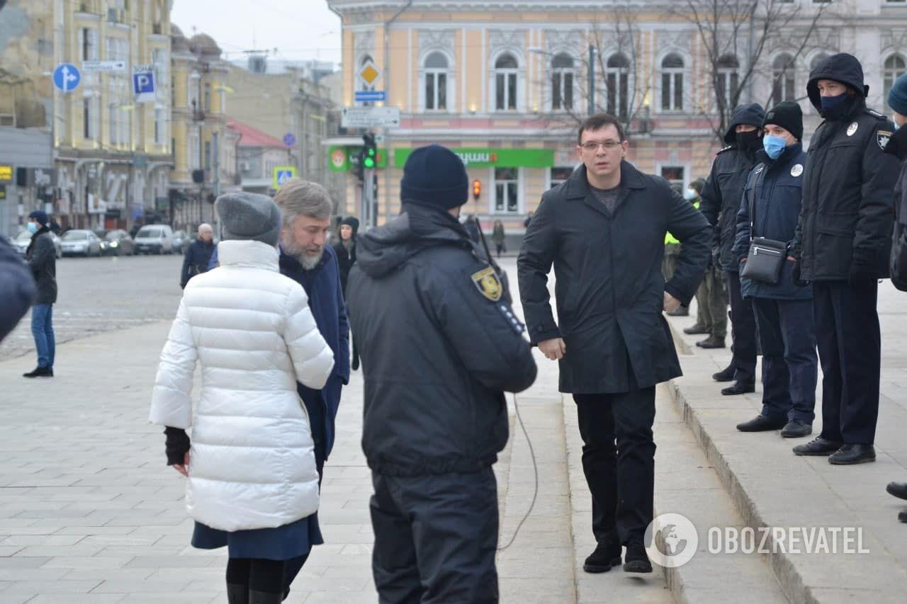 Євген Мураєв та Вадим Новинський у Харкові