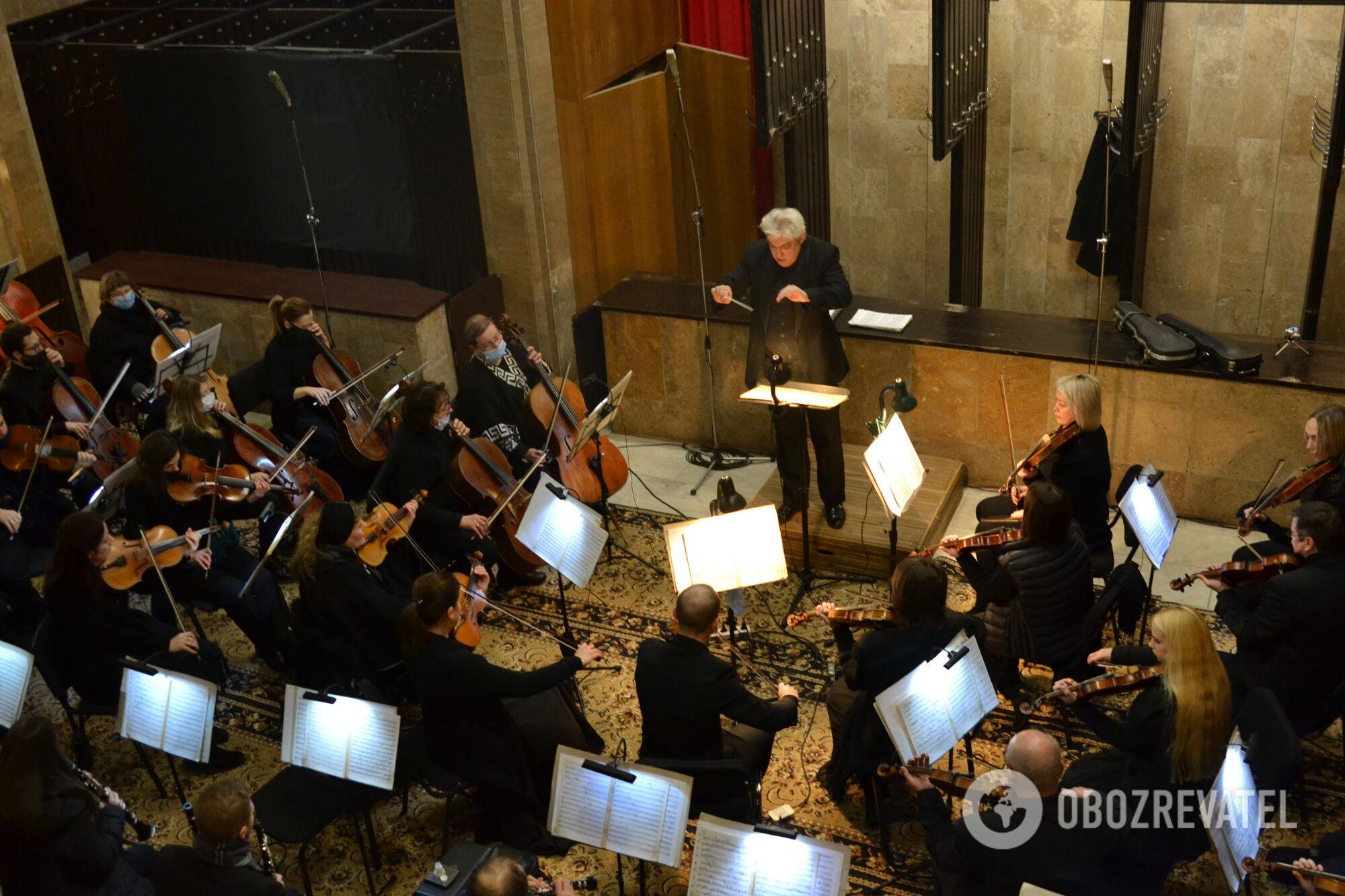 Оркестр на похоронах Кернеса