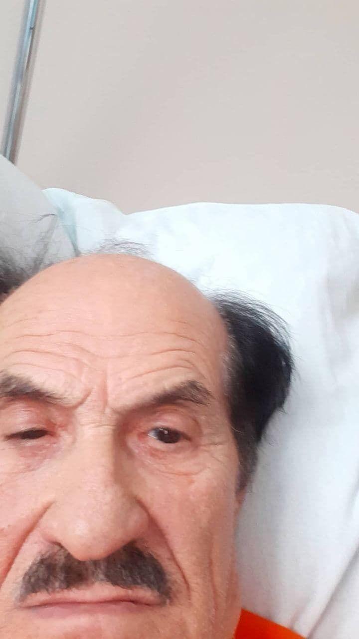 Селфи с больницы Григория Чапкиса
