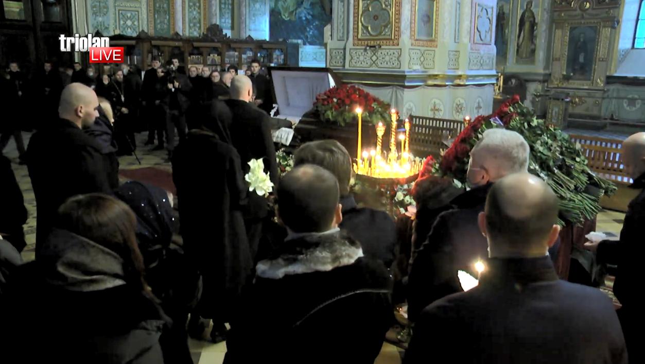 Прощание с Геннадием Кернесом в Благовещенском соборе