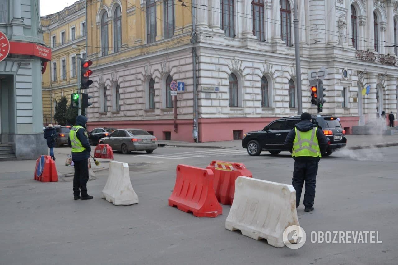 Полиция на дорогах Харькова