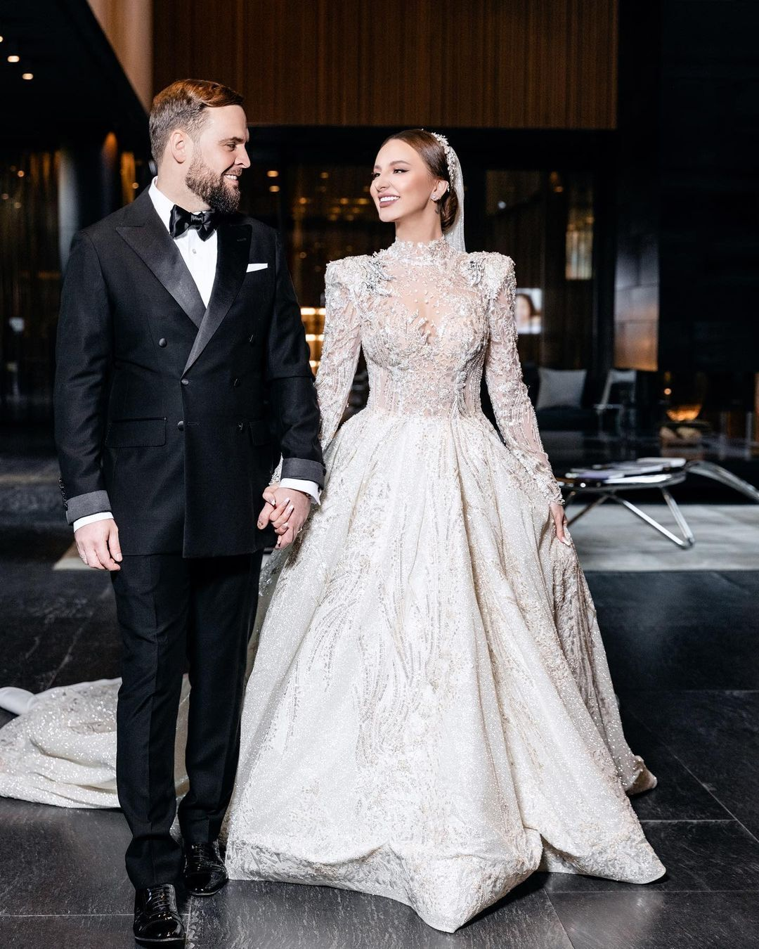 Asti на своєму весіллі з чоловіком Станіславом