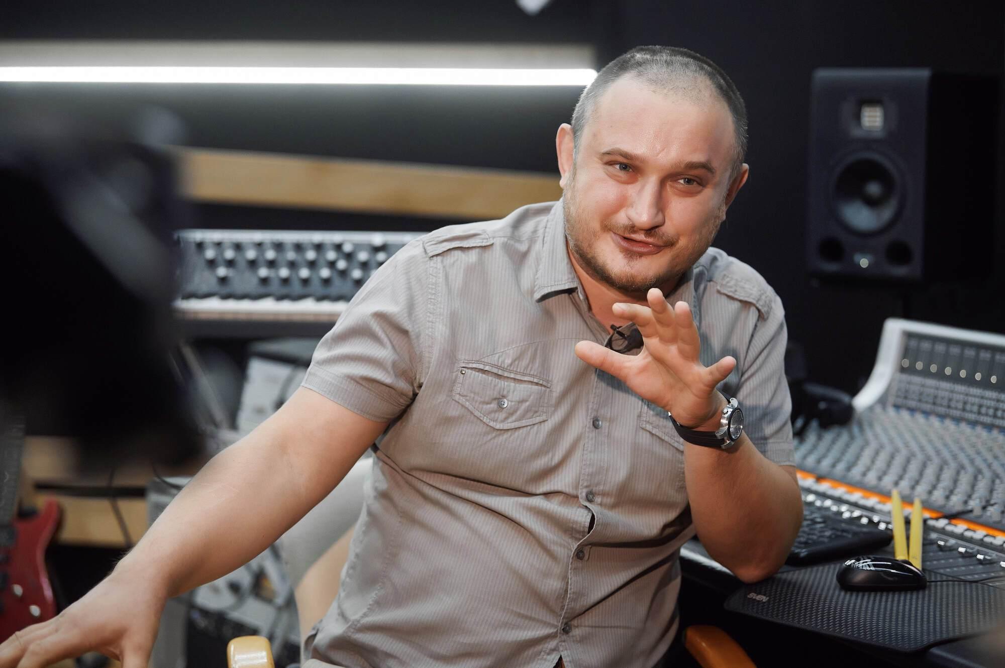 Сергій Перцев в студії