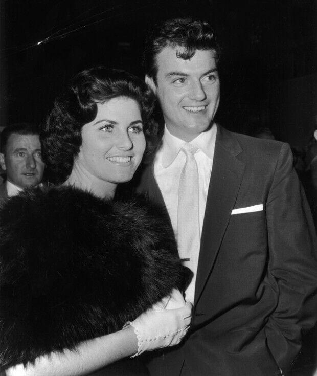 Джудит Экснер с мужем Уильямом Кэмпбеллом.