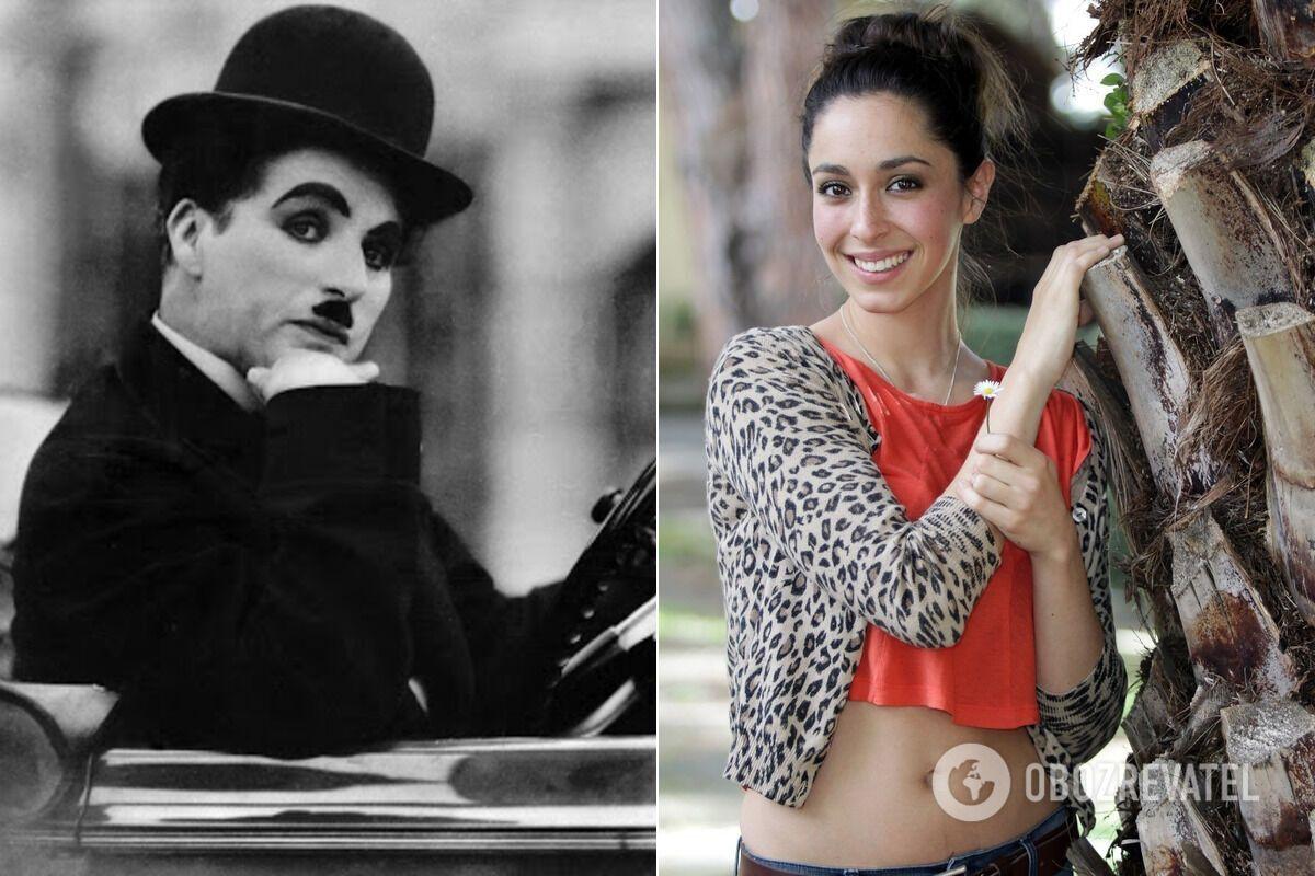 Онучка Чарлі Чапліна
