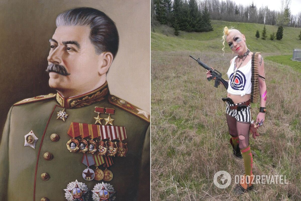 Онучка Йосипа Сталіна