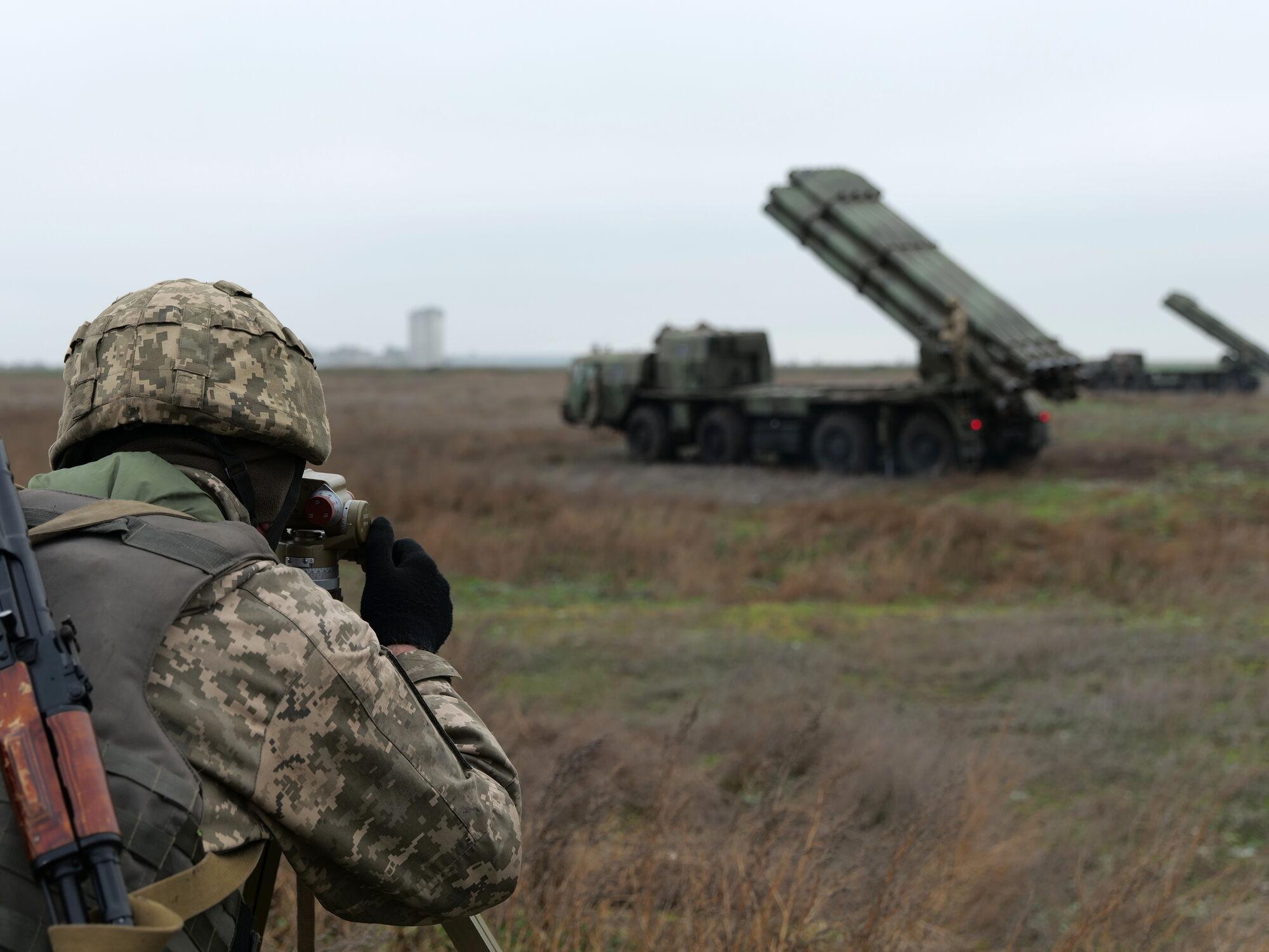 Занятия по готовности ракетных подразделений ВСУ проходят и днем, и ночью.