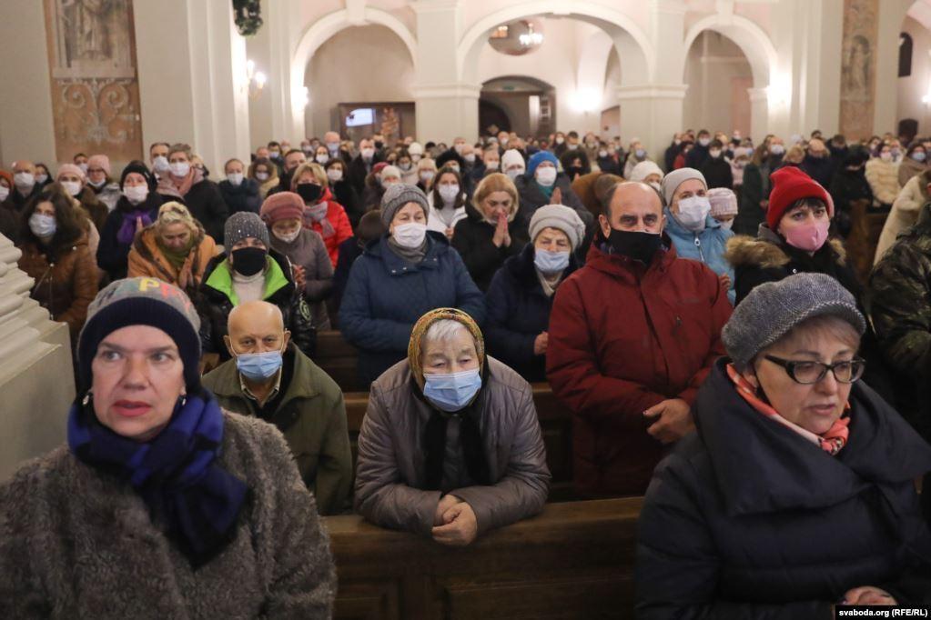 Архикафедральный храм Пресвятой Богородицы в Минске